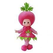 Cute Plush Toy Music Singing Doll Baby Musical Soft Stuffed Dolls Radish