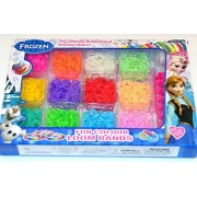 Ultimate Loom Rubber Bands! Frozen Bracelet Knitting Craft Kit! Best Loom Band for DIY Jewelry