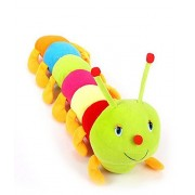 Samdivi Colorful Caterpillar Soft Toy - 50 cm (Multi Color)