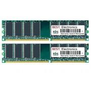 4GB Kit (2x 2GB) PC2-6400 Packard Bell iStart B3103 RC415 memoria ram