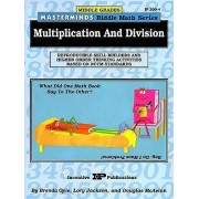 Masterminds Riddle Math for Middle Grades: Multiplication and Division by Brenda Opie