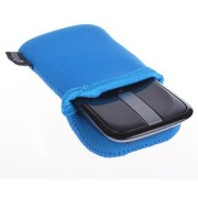 Cosmos Light Blue Neoprene Carrying Protection Sleeve Bag Pouch Cover for Microsoft Arc Touch Mouse