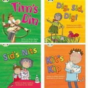Learn to Read at Home with Phonics Bug: Pack 1 (Pack of 4 Fiction Books) by Monica Hughes
