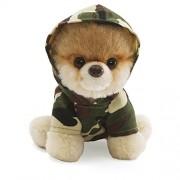 Gund 4033195 - Itty Bitty Boo, perro de peluche con capucha de camuflaje (12,5 cm)
