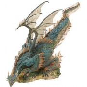 2004 - McFarlane / Spawn - McFarlanes Dragons - Rare Series 1 - Water Clan Dragon Action Figure - Quest for the Lost Kin