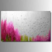 1 Quadro Arte Moderna Floreale Colorato
