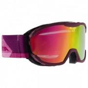 Alpina - Pheos Junior MM - Skibrille rosa/lila/rot