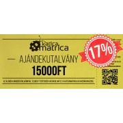 Ajándék kártya 15000FT - AKCIÓ!