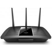 Router Wireless Linksys EA7500-EU, Gigabit, Dual Band, 1900 Mbps, 3 Antene Externe + Cablu UTP Patch cord Gembird cat. 5E, 3m