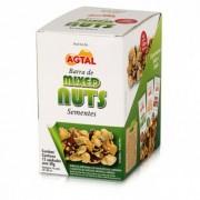 Barra de Mixed Nuts - Sementes - 12unid - Agtal -