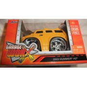 JADA GARAGE WORX YELLOW 2003 HUMMER H2 DIE-CAST REPLICA, JADA DIE-CAST