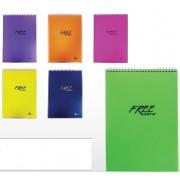 Бележник Keskin Color Free,A5 ,100 л. PP
