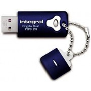Integral Crypto Dual FIPS 197 Encrypted - USB-stick - 8 GB