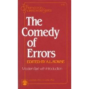 The Comedy of Errors: Modern Text by William Shakespeare