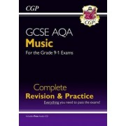 New GCSE Music AQA Complete Revision & Practice (with Audio CD) - For the Grade 9-1 Course by CGP Books