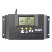 CM3024Z - Контролер за заряд на соларeн панел 30A 12/24V - соларно зарядно