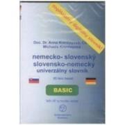 CD-ROM Univerzálny slovensko-anglický anglicko-slovenský slovník BASIC(Michael de Kernech)