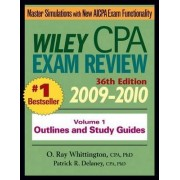Wiley CPA Examination Review 2009-2010: v. 1 by Patrick R. Delaney