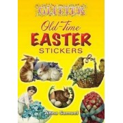 Glitter Old-Time Easter Stickers by Anna Samuel