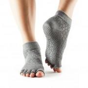 TOESOX Calzini Antiscivolo senza dita, caviglia