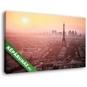 Az ébredő Eiffel-torony (40x25 cm, Vászonkép )