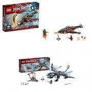 Lego Ninjago: Sky Shark & Jays Elemental Dragon Bundle Set