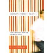 Identity/difference Politics by Rita Dhamoon