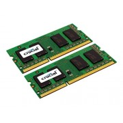 Crucial CT2KIT102464BF160B Kit Memoria da 16 GB, (8 GBx2), DDR3L, 1600 MT/s, (PC3L-12800) SODIMM, 204-Pin