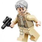 LEGO Star Wars Minifigure General Airen Cracken with blaster gun (75050)