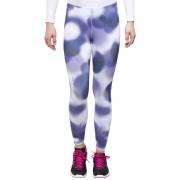 Odlo EBE hardloopbroek insideout Tights, short cut violet/blauw Hardlopen