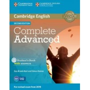 Guy Brook-Hart Complete Advanced Student's Book with Answers with CD-ROM Second Edition
