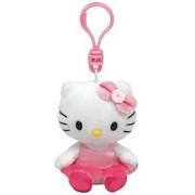 Ty Beanie Babies Hello Kitty Ballerina - Clip On Plush