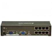 IOGEAR GVS148TX de 8 puertos VGA CAT5e / 6 Splitter de Audio / Video