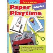Paper Playtime: Vehicles by Shiro Takei