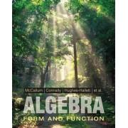 Algebra by William G. McCallum