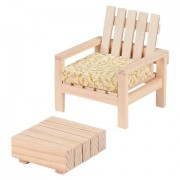 Our Generation Dollhouse Furniture - Patio Chair and Table Set