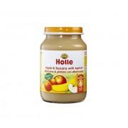 Piure de mere banane si caise - Holle Longeviv.ro
