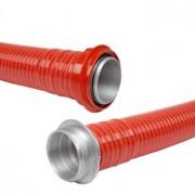 Sportovní savice 110 Sport s O kroužky, červená