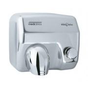 Uscator de maini antivandal (actionare cu buton) Mediclinics seria Saniflow push button