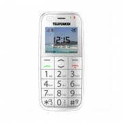 Teléfono Móvil Teclas Grandes Telefunken TM400