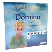 Polymark Toys LPP5465 - El Principito, juego domino de cartón, 28 piezas (PLMTLPP5465) - Juego Dominó Cartón Principito (28), Juego de mesa Infantil/Juvenil