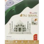 Taj Mahal 3D Puzzle With Book 87-Piece