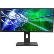 """Monitor IPS LED Dell 29"""" U2913WM, Ultra Wide, 2560 x 1080, VGA, DVI-D, HDMI, Display Port, 8ms GTG (Negru)"""