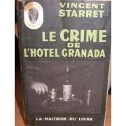 Le Crime De L'hôtel Granada ( The Great Hotel Murder ).