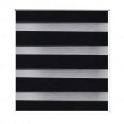 Zebra Blind 90 x 150 cm Black
