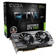 EVGA GeForce GTX 1080 FTW DT GAMING, 08G-P4-6284-KR, 8GB GDDR5X, ACX 3.0 & RGB LED