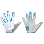 Cube Natural Fit Langfinger Handschuhe Damen white'n'grey'n'blue M Handschuhe lang