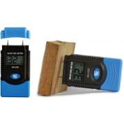HOLDPEAK HP-2GD Fa (6-42%) és egyéb anyag (0.2-2%) nedvességtartalom mérő LCD kijelző.