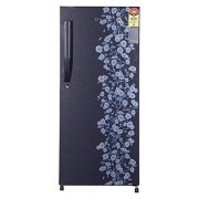 Haier 195 L 5 Star Direct-Cool Single Door Refrigerator (HRD-2157CBD-R, Blue Daisy)