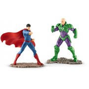 DC Comics - Scenery pack Superman vs Lex Luthor (Schleich 22541)